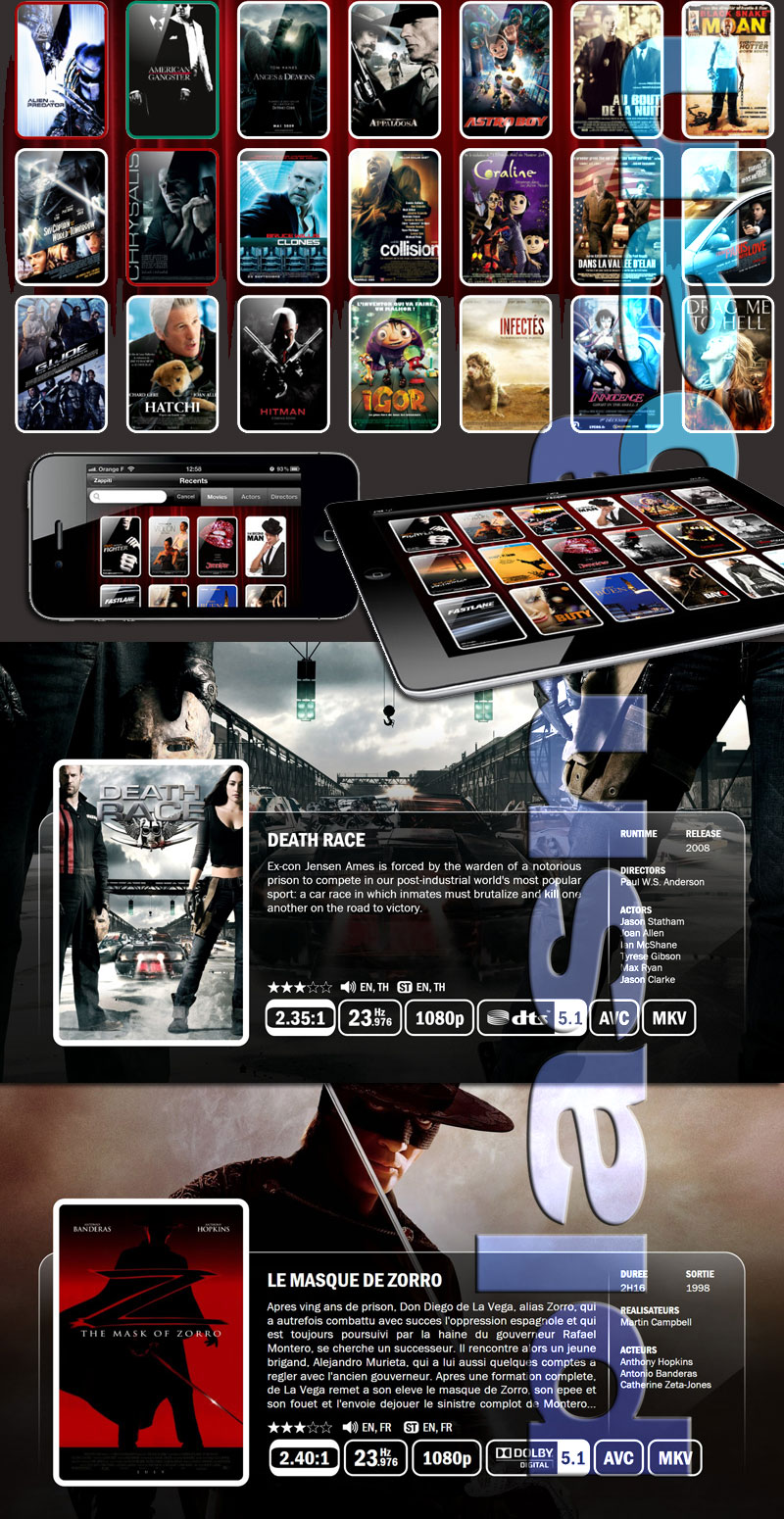 coverflow dune hd mediaplayer